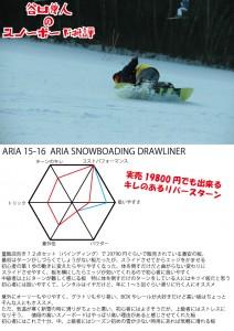 スノーボード批評ARIA